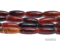 wholesale 10x30mm oval agate strings