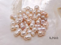 Wholesale 10.5X18-16X20mm Natural Pink Irregular Loose Freshwater Pearl