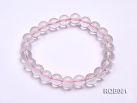 9mm Round Rose Quartz Beads Bracelet