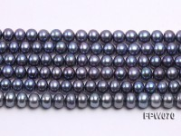 Wholesale 6.5x8mm  Flat Cultured Freshwater Pearl String