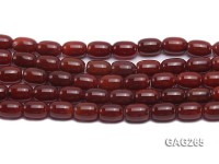 wholesale 14x10mm oval red agate strings
