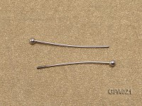 0.5x20mm Silver Plated Copper Needles