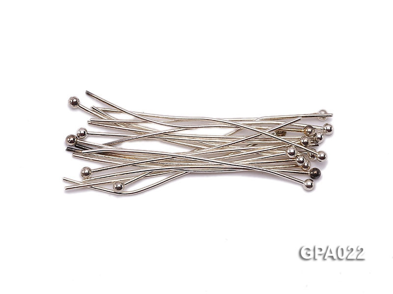 0.5x30mm Silver Plated Copper Needles