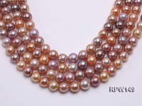 11.5-13mm Natural Round Edison Pearl loose String