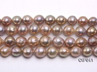 Wholesale & Retail AAA-grade 13-16mm Lavender Baroque Pearl String
