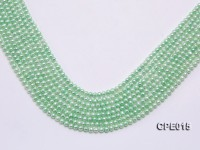 Wholesale 4-5mm Light-green Freshwater Pearl Loose String