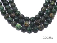 Wholesale 18mm Round Faceted Colorful Gemstone String