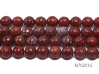 wholesale 16mm round red Agate strings
