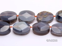 wholesale 18*30*40mm oval Agate pieces Loose Strings