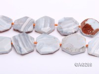 wholesale 12*40*45mm natural irregular Agate piece Strings