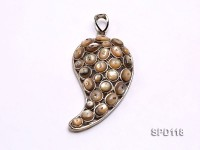 31x59mm Teardrop-shaped Shell Pendant