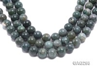 wholesale 16mm round Moss Agate Strings