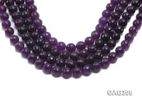 wholesale 12mm round Faceted Purple Agate Beads