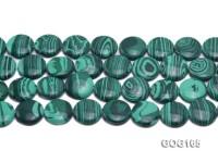 Wholesale 20mm Disc-shaped Imitation Malachite String