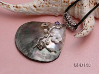 69mm Irregular Shell Pendant