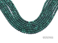 Wholesale 6mm Round Imitation Malachite String