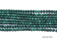 Wholesale 6mm Round Imitation Malachite String