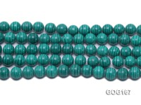 Wholesale 10mm Round Imitation Malachite String