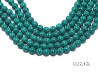 Wholesale 12mm Round Imitation Malachite String