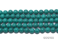 Wholesale 12mm Round Imitation Malachite String