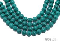 Wholesale 14mm Round Imitation Malachite String