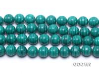 Wholesale 14mm Round Imitation Malachite String