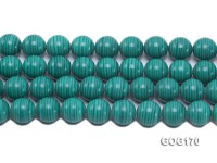 Wholesale 16mm Round Imitation Malachite String