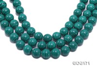 Wholesale 18mm Round Imitation Malachite String