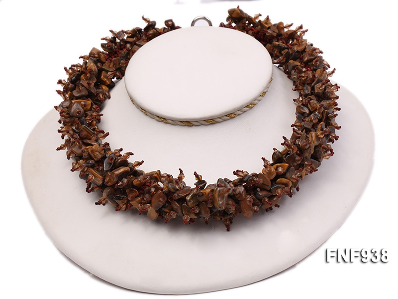 Tiger Eye Chips Necklace