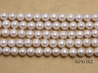 Wholesale Classic 9-10mm White Round Freshwater Pearl String