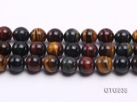 wholesale 14mm Round Tiger Eye Strings