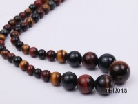 6-14mm Tiger Eye Beaded Necklace