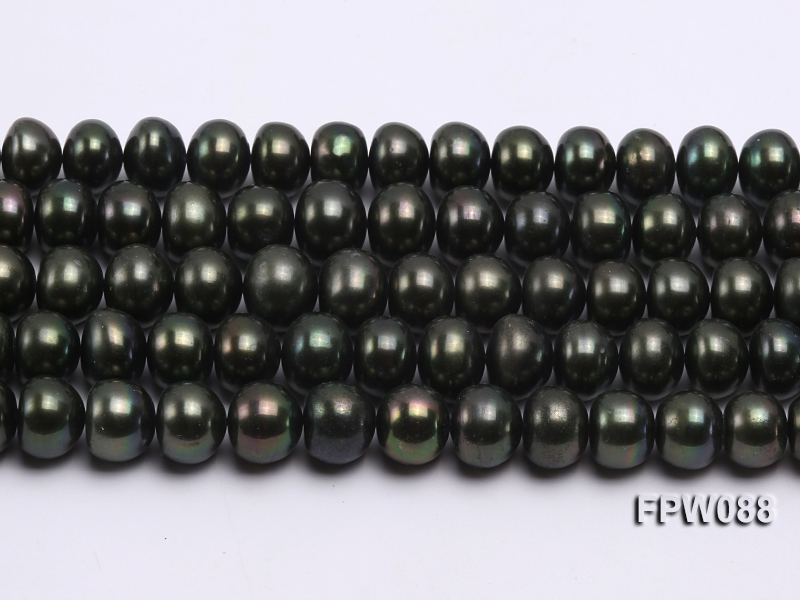 Wholesale 11-12mm Flat Cultured Freshwater Pearl String