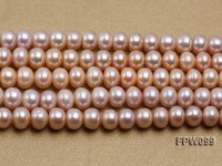Wholesale 8-9mm Natural Lavender Flat Freshwater Pearl String