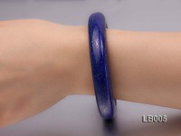 13.5mm Azure Blue Lapis Lazuli Bangle