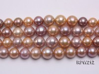 Selected AAA 11-12mm Natural Round Edison Pearl loose String