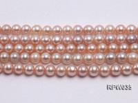 Wholesale & Retail High-quality 7-8mm Lavender Round Freshwater Pearl String
