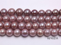 13-14mm Natural Round Edison Pearl loose String
