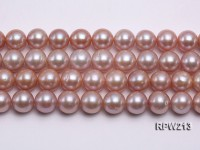 13-15mm Lavender Round Freshwater Pearl String