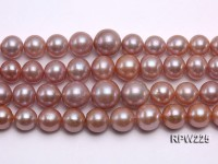 Selected AAA 13-14mm Natural Round Edison Pearl loose String