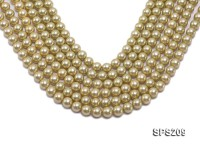 Wholesale 10mm Olive Round Seashell Pearl String