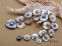 22mm Special Mabe Pearl Necklace