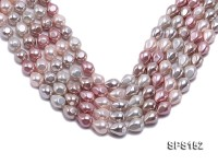 Wholesale 11.5×18.5mm Multi-color Drip-shaped Seashell Pearl String