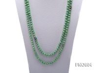 Light Green Freshwater Pearl Necklace
