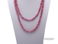 7.5-8.5mm Pink Freshwater Pearl Necklace