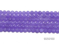 Wholesale 8mm Blue Round Faceted Gemstone String