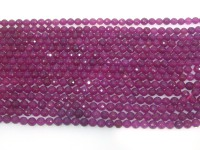 Wholesale 4mm Round Faceted Rose Stone String