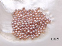 Round Pearl Wholesale—AA-grade 5mm Round Lavender Pearl