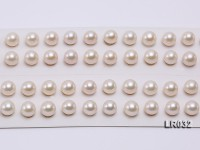 Round Pearl Wholesale—AAA Shiny 8.5-9mm Round Natural White Pearl
