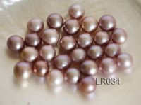 AAA-grade 12-13mm Natural Lavender Loose Freshwater Pearl